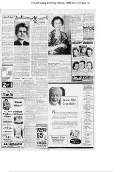 The Winnipeg Evening Tribune 1940 04 13 Page 10 page 001